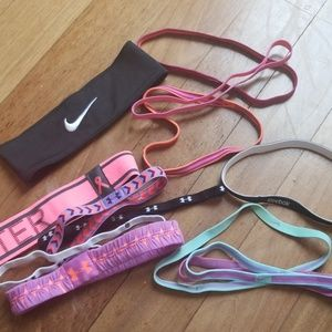 Athletic hairbands